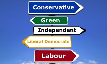 Signpost, political parties